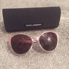 Cat-eye Dolce&Gabbana Sunglasses Perfect condition! Only worn once, comes with hard and soft case and D&G wipe Dolce & Gabbana Accessories Sunglasses