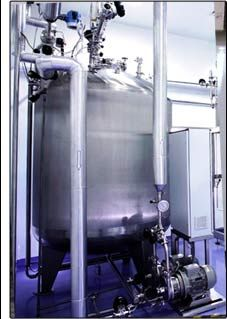 This custom engineered pharmaceutical filtration system produces ultra pure water for use in pharmaceutical production. The WaterProfessionals® have been  specifying, engineering, building, and maintaining Ultrapure water systems for more than 25 years.