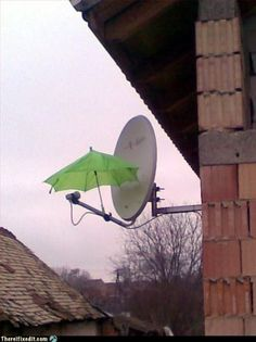Is snow and rain interfering with your satellite signal...lol