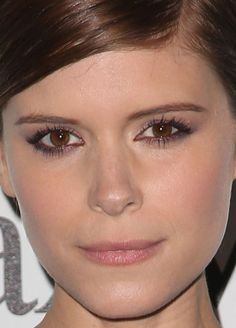 Close-up of Kate Mara at the 2015 Women in Film Crystal + Lucy Awards. http://beautyeditor.ca/2015/06/21/best-celebrity-beauty-looks-amandla-stenberg
