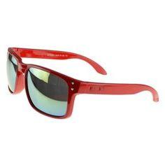Cheap Oakley Holbrook Sunglasses red Frame blue Lens On Sale : Fake Oakleys$20.89