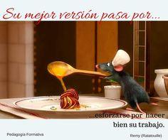 Ratatouille (Confit Byaldi) - the sauce recipe included Ratatouille Disney, Ratatouille 2007, Ratatouille Recipe, Ratatouille Movie Characters, Disney Pixar, Disney Food, Disney And Dreamworks, Disney Art, Walt Disney