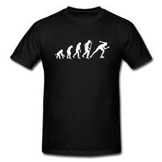 Evolution of inline speed skating  T-Shirt | Spreadshirt | ID: 8707409