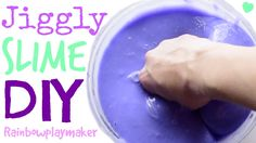 DIY SUPER JIGGLY SLIME TUTORIAL! HOW TO Make Slime with ONLY 3 INGREDIEN...