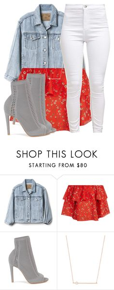 """""""woa"""" by aiyana-xo ❤ liked on Polyvore featuring Gap, Alice + Olivia, Gianvito Rossi and Jacquie Aiche"""