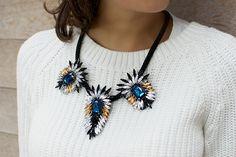 Diy Crystal Flare Necklace