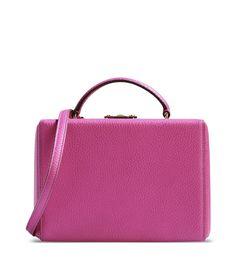 Mark Cross Fuchsia Box Bag