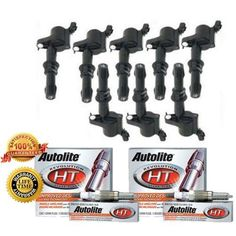 Kit Expedition + F-Series 8x ignition coil +8x DBL platinum spark plug $160.00 free shipping