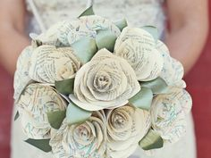 Platinum Touch Events: paper bouquets (to be thrown or given to the mothers?)