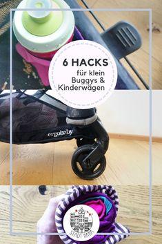6 Hacks für kleine Kinderwägen oder Buggys, die sich bei uns bewährt haben. Mama Hacks, Home Appliances, Best Baby Strollers, Traveling With Children, Diapers, House Appliances, Appliances