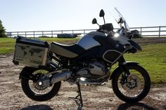 """Spruce up your dull Aluminium Touratech panniers with our custom """"GSA R1200 World Adventure Map"""" Graphics Kit Kit Includes: - 2x World Adventure Decals in Gloss Grey (370mm x 180mm) - 2x """"GSA"""" Decals"""