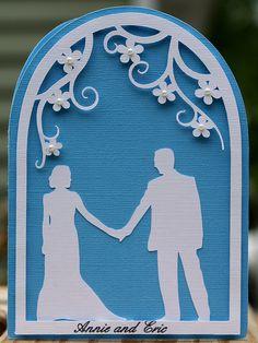 gorgeous wedding card!