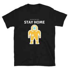 Stay Home Stay Safe Wear A Mask And Wash Your Hands Unisex T-Shirt Corona Shirt, Hero Of The Day, Save Life, Stay Safe, Hands, Hospitals, Unisex, Volunteers, Trending Outfits