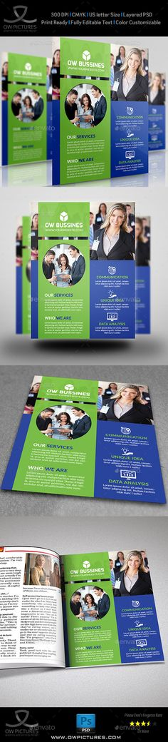 Corporate Business Flyer Template PSD | Buy and Download: http://graphicriver.net/item/corporate-business-flyer-vol13/8973080?WT.ac=category_thumb&WT.z_author=omar_almudaries&ref=ksioks