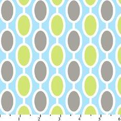 Aqua, lime green and gray!