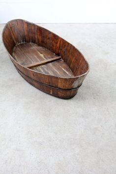 Antique Wood Boat