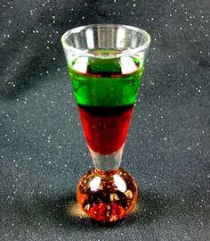"Santa Shot cocktail www.LiquorList.com ""The Marketplace for Adults with Taste!"" @LiquorListcom #liquorlist"
