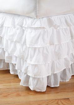 Sleeping Beautiful Bed Skirt in King, #ModCloth