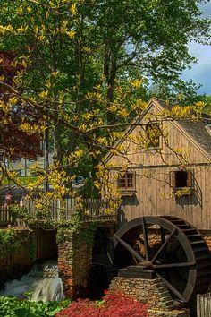 Jenny Grist Mill, Plymouth, Massachusetts