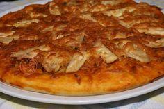 Pizza Pollo picante con especias