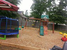 At home playground