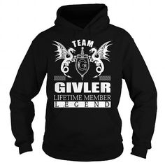 Team GIVLER Lifetime Member - Last Name, Surname TShirts