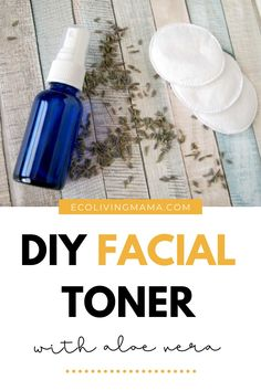 Make your own homemade facial toner with aloe vera and witch hazel. This is a gentle, effective toner recipe that comes together in minutes and works amazingly well!diy #beauty #skincare #naturalliving #diyfacialtone Homemade Deodorant, Homemade Skin Care, Homemade Beauty Products, Diy Skin Care, Beauty 101, Natural Beauty Tips, Clean Beauty, Diy Lotion, Lotion Bars