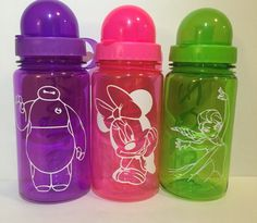 Customized Children's Water Bottle by amgcraftsudio on Etsy