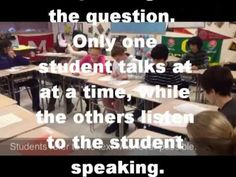 Introductory video to show students before first Socratic Seminar (students in video are in middle school). Ap Language And Composition, School Tool, High School Classroom, Teaching Reading, Teaching English, Teacher Resources, Middle School, 1, Persuasive Writing