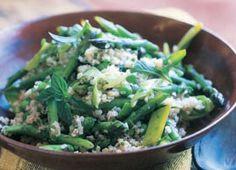 Boulgour aux legumes de printemps