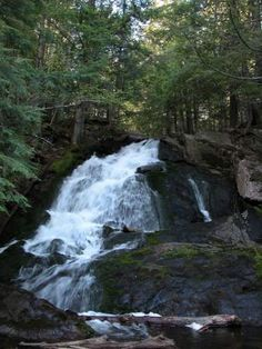 Alder Falls, MI Big Bay, 20 miles north of Marquette Height: 30 Crest: 5 Water Source: Alder Creek Fall In Michigan, Michigan Travel, Lake Michigan, Michigan Waterfalls, Marquette Michigan, Water For Health, Big Bay, Great Lakes Region, Lake Huron