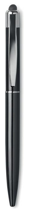 НЕЙЛО Металлическая шариковая ручка           со стилусом, синие чернила.