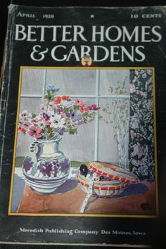 1929 Vintage Better Homes and Gardens Magazine