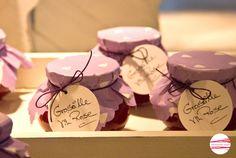 """Marmelade - *Jam Spread JohannisbeerVino """"Groseille vin Rose""""* - ein Designerstück von CinnamonSwirl bei DaWanda"""