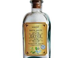 Detox Aromatherapy Dead Sea Salt- All Natural