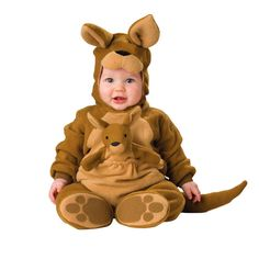 92.29$  Watch now - http://alitsh.worldwells.pw/go.php?t=32773598562 - Baby Footies Children with Halloween kangaroo lobster animal modelling conjoined clothes Lovely performance clothing FWA3003
