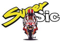 SuperSic – Marco Simoncelli 58 Honda