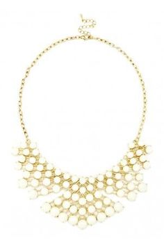 Cluster Bib Necklace