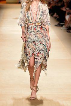 Etro|Embellished printed silk-georgette midi dress|NET-A-PORTER.COM