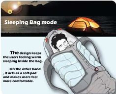Sleeping Bag Rucksacks - Vincent Chan's Backpack Designs Consolidate Your Camping Equipment (GALLERY)