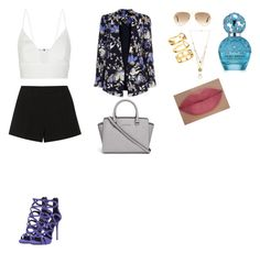 """""""Untitled #503"""" by danijelatatic ❤ liked on Polyvore featuring Emilio Pucci, Oasis, Giuseppe Zanotti, Narciso Rodriguez, MICHAEL Michael Kors, Ray-Ban, Maison Margiela, H&M, Marc Jacobs and She's So"""