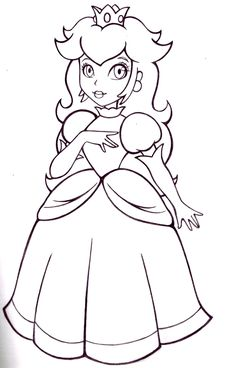 Free Princess Peach Coloring Pages For Kids is part of Princess coloring pages - Princess Peach, the damselindistress rescued by Mario and Luigi in Nintendo's popular Super Mario franchise, is one of the most sought after coloring page items for girls Mermaid Coloring Pages, Princess Coloring Pages, Coloring Pages To Print, Coloring Book Pages, Coloring Pages For Kids, Coloring Sheets, Elsa Coloring, Melanie Martinez Coloring Book, Dibujos Toy Story
