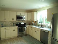 Here is Caroline's new kitchen