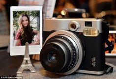 Fujijfilm Instax mini 90 Neo Classic. Fuji has jumped onto the classic rangefinder styling with their new instant camera in the Instax line. £135