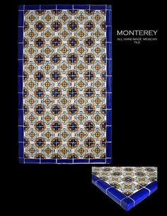 Monterey Mosaic Mexican Tile Table Top