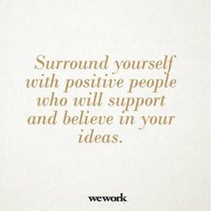 WeWork inspirational message