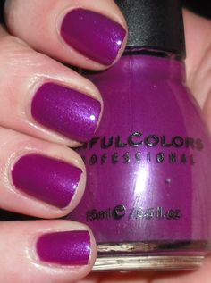 Sinful Colors Fig. Did a pedicure with this last night. Beautiful color!