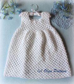 Lacy Crochet: Simple Granny Stitch Crochet Dress, Size 2-3 Years Old, Free Crochet Pattern