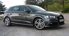 2016 Audi A3 Sportback Quattro The pedals and footstool are made of stainless steel; two bars open worked structure handles for entryway openers.