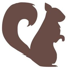 Forest Critter Squirrel Vinyl Wall Decal